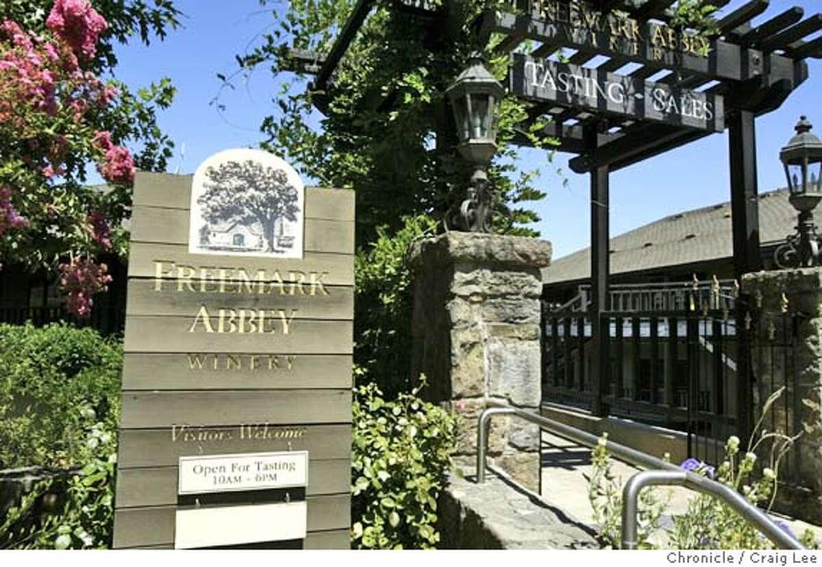 Freemark Abbey's tasting room is seen in St. Helena, Calif.