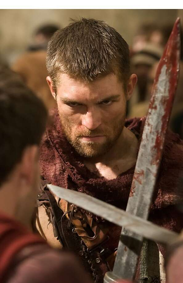 Liam McIntyre as 'Spartacus'.  (PRNewsFoto/Starz Entertainment, LLC) Photo: Associated Press