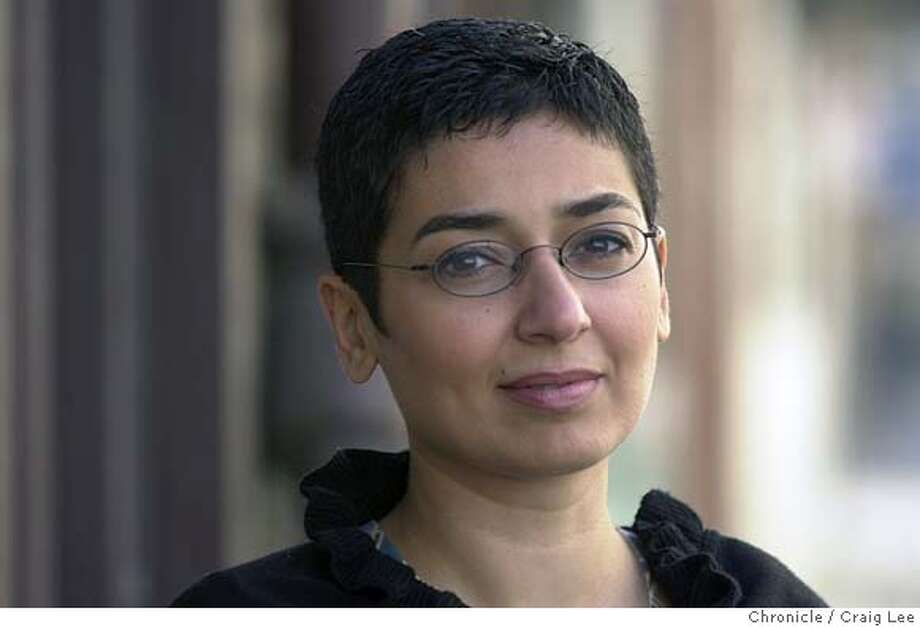 SALBI-C-30NOV01-LV-CL Photo of Zainab Salbi, founder and president of Women for Women International, which helps women victims of war. She is here to try to open a San Francisco branch. Photo by Craig Lee/San Francisco Chronicle CAT Photo: CRAIG LEE