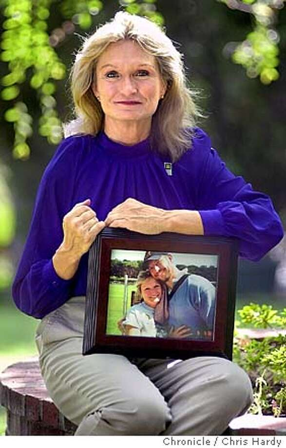 hoglan022_ch.jpg  alice hoglan (HOE-glan) is the mother of mark bingham, one of the heroes of flight 93. we profile her as part of a series running before 9/11. Event on 9/2/03 in Saratoga. CHRIS HARDY / The Chronicle Photo: CHRIS HARDY