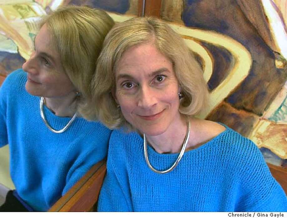 NUSSBAUM11b-C-17OCT01-DD-GG-Authur Martha Nussbaum. Photo by Gina Gayle/The SF Chronicle. Photo: GINA GAYLE