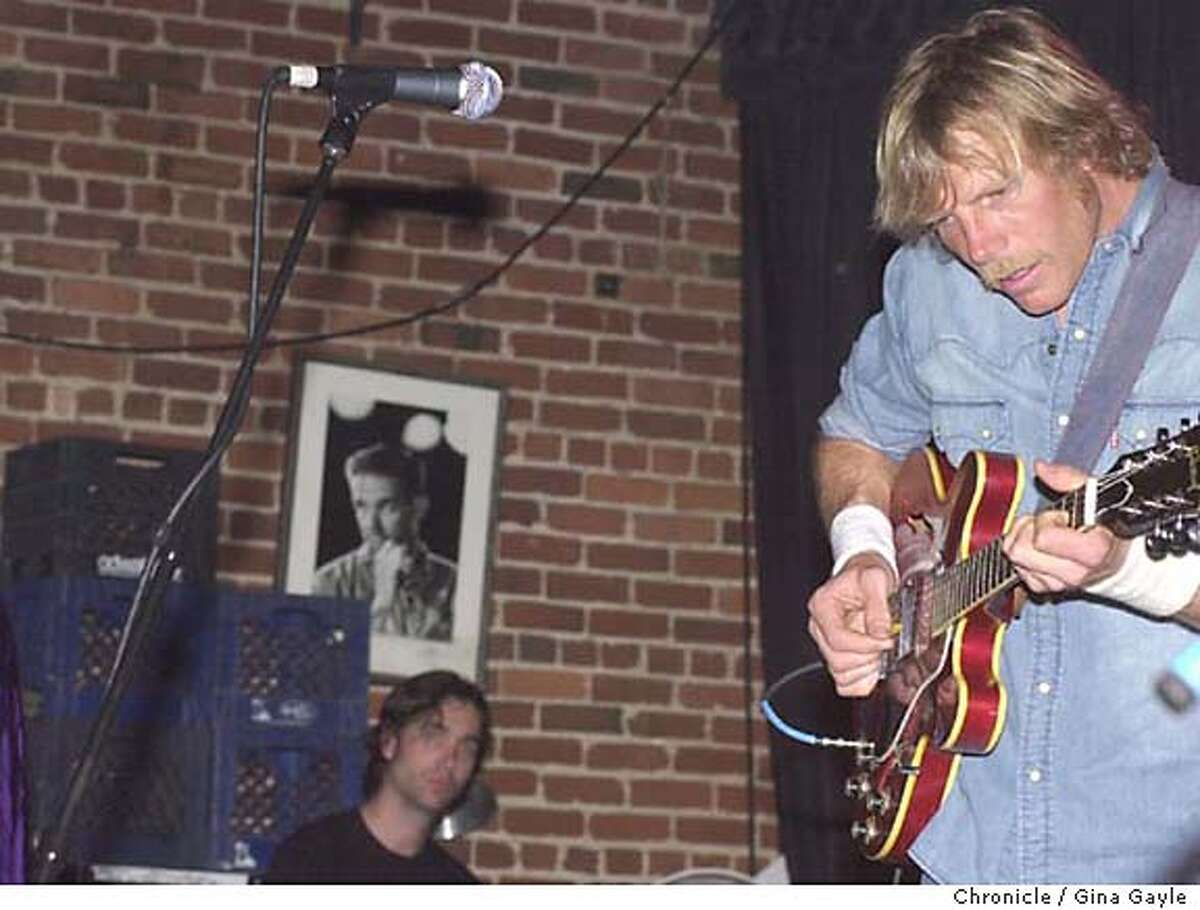 hips24b-c-22feb-dd-gg -Members of the band Mother Hips with guitarist Tim Bluhm appear at Slim's for their last ever concert after one member decided not to tour since having a baby. Photo by Gina Gayle/The SF Chronicle.