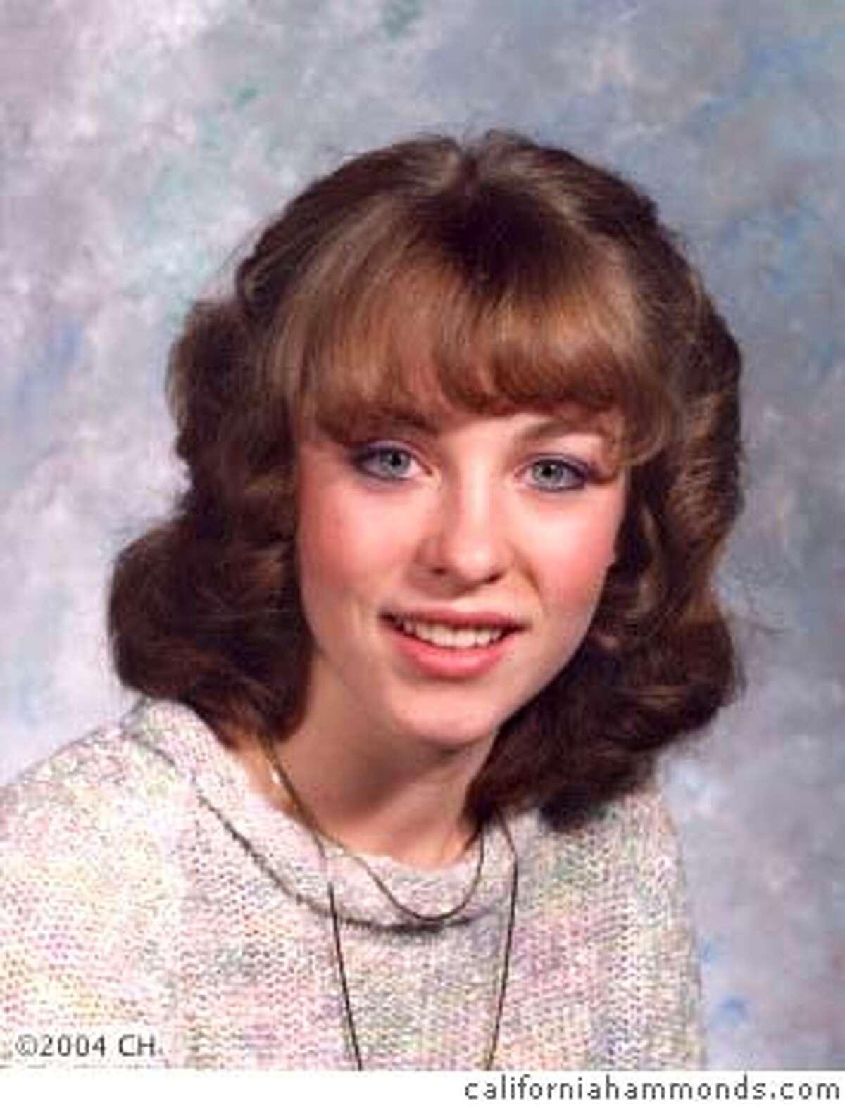 Cheryl Hammonds from blog by her husband. High school?