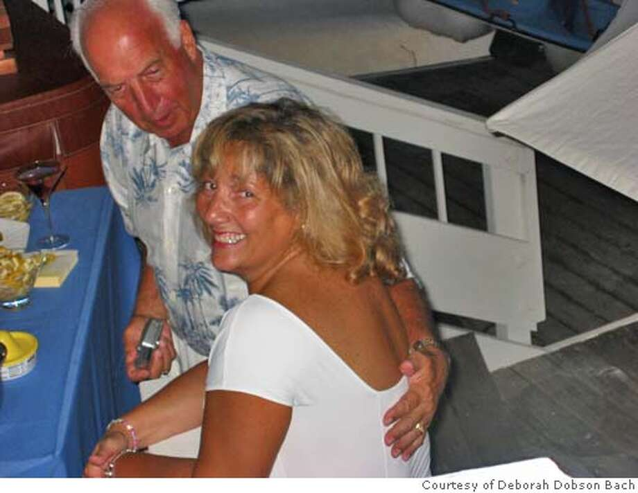 Photo of Victor and Kathy Bach, taken at his birthday party the month before he was murdered. Photo: Courtesy Deborah Dobson Bach