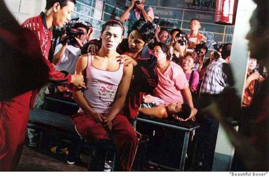 BEAUTIFUL21 ASANEE SUWAN�as Thai Kickboxer NONG TOOM  in the award-winning film �BEAUTIFUL BOXER�� Regent Releasing