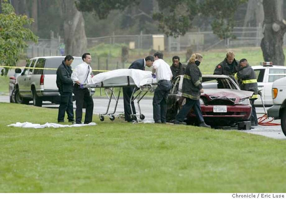 Body discovered in burned-out car at Golden Gate Park - SFGate