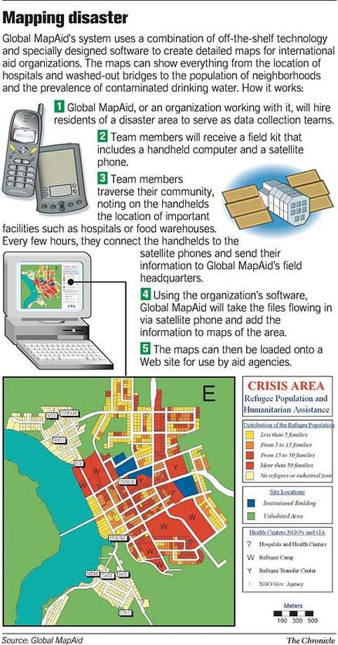 Mapping Disaster. Chronicle Graphic Photo: Joe Shoulak
