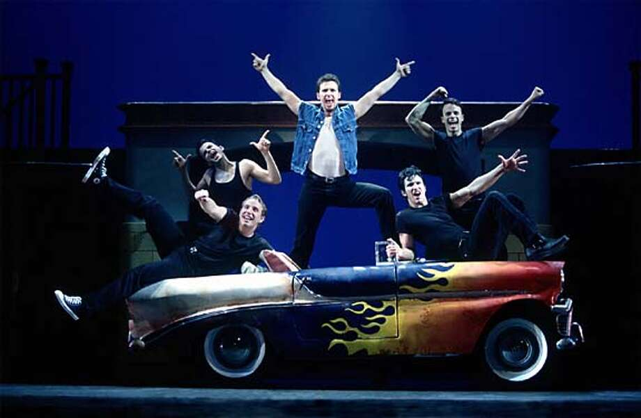 """The cast of """"Grease,"""" the touring production coming to the Orpheum Jan. 20-30."""
