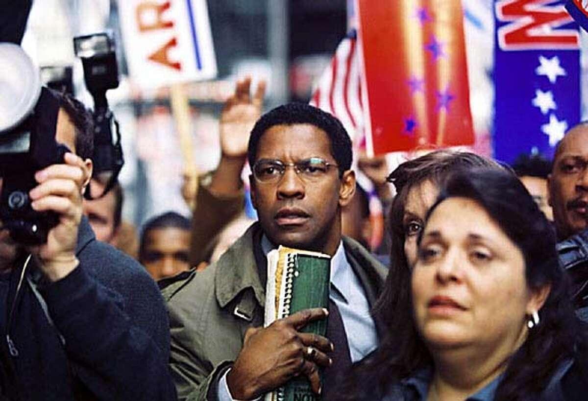 "Denzel Washington from ""The Manchurian Candidate."""
