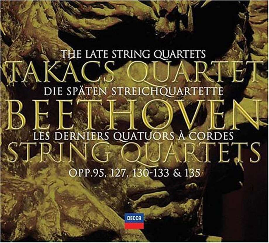 """Beethoven: Late String Quartets"" performed by Tak�cs Quartet"