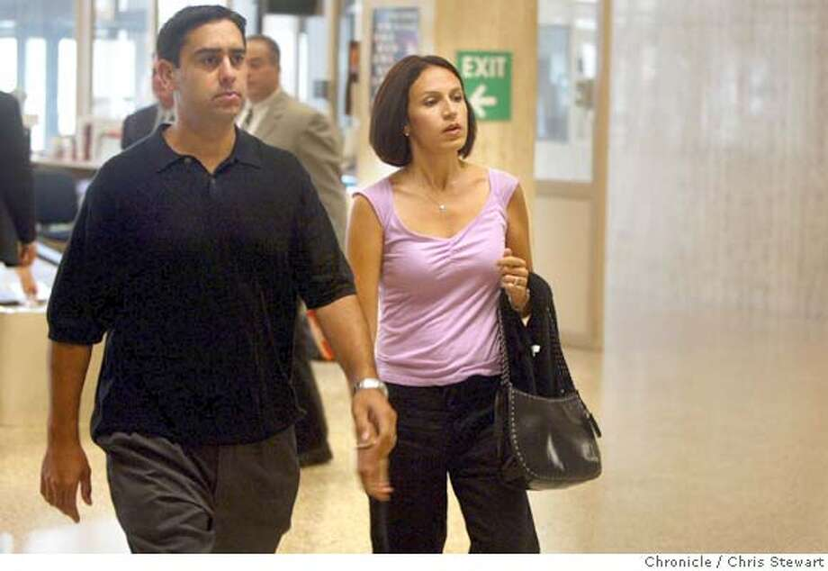 Event on 7/26/04 in Redwood City  The Scott Peterson double homicide trial continues Monday, July 26, 2004 at the San Mateo County courthouse in Redwood City. Chris Stewart / The Chronicle Photo: Chris Stewart
