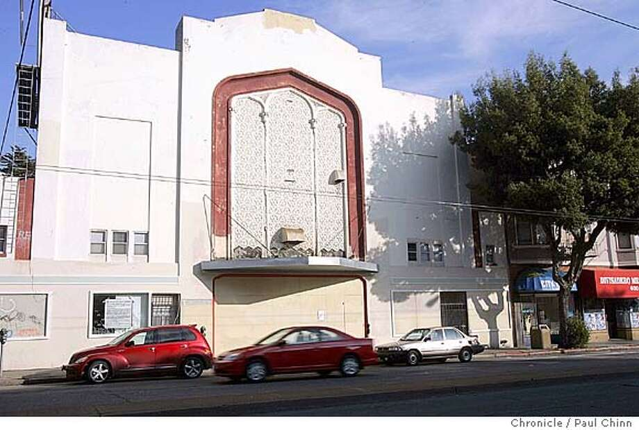 The old Harding Theater on Divisadero St. is slated to be demolished and replaced with condos. Harding Theater on 1/6/05 in San Francisco, CA.  PAUL CHINN/The Chronicle Photo: PAUL CHINN