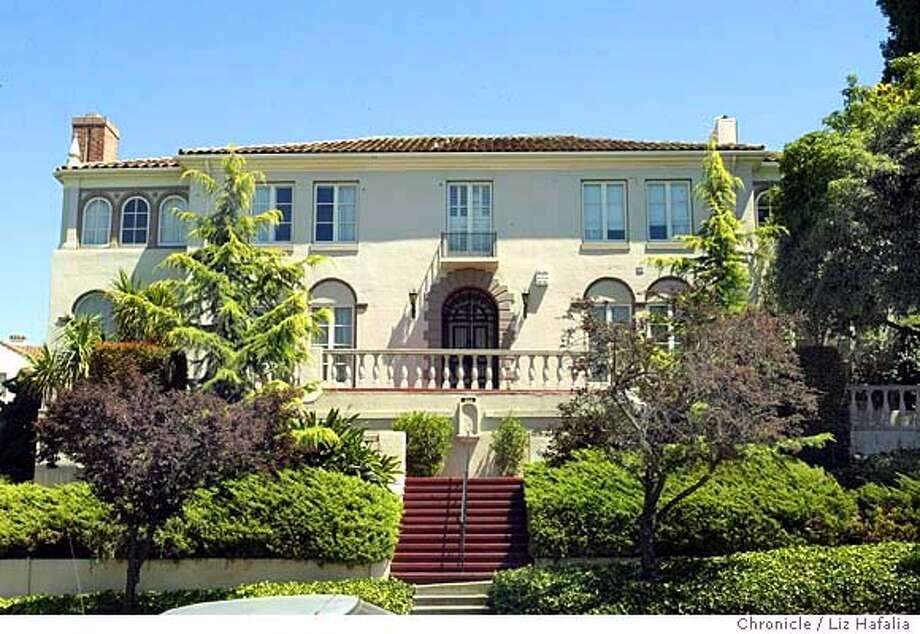 The listing of the Henry J. Kaiser Mansion in Oakland--668 Haddon Rd. Shot on 7/19/04 in Oakland. LIZ HAFALIA / The Chronicle Photo: LIZ HAFALIA