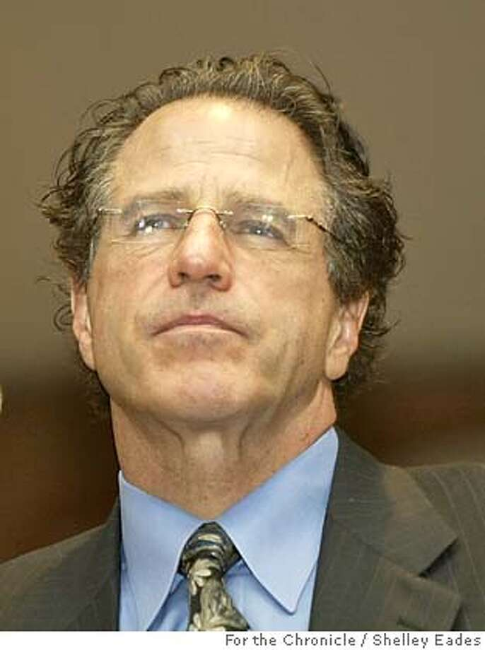 STEMCELL18 Robert Klein is chosen as committee chair during the first meeting of the oversight committee being set up to run California's $3 billion stem-cell research initiative, which voters got going by passing Prop 71 in November, the meeting was held at UCSF Laurel Heights Conference Center in San Francisco. Event on (12/17/04) in (San Francisco)  Photos by Shelley Eades/The Chronicle Photo: SHELLEY EADES