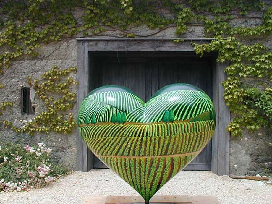 "Andre de Baubigny's ""Heart of the Napa Valley"" in Hearts in San Francisco"