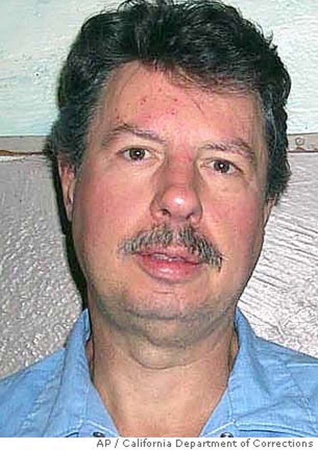 This undated photo released by the California Department of Corrections shows Donald Beardslee. Lawyers for Beardslee, who killed two women, argued to a federal appeals court Wednesday, Jan. 12, 2005, that the lethal injection he faces Jan. 19 is cruel and unusual, and violates the First Amendment right of speech. Inmate Donald Beardslee, in what is believed to be the first challenge of its kind to lethal injection, alleged that the combination of a sedative and a paralyzing agent would mask whether heis experiencing excruciating pain, would prohibit him from crying out and prevent public witnesses to the execution from seeing him contort, a violation of the First Amendment. (AP Photo/California Department of Corrections) PHOTO RELEASED BY THE CALIFORNIA DEPARTMENT OF CORRECTIONS