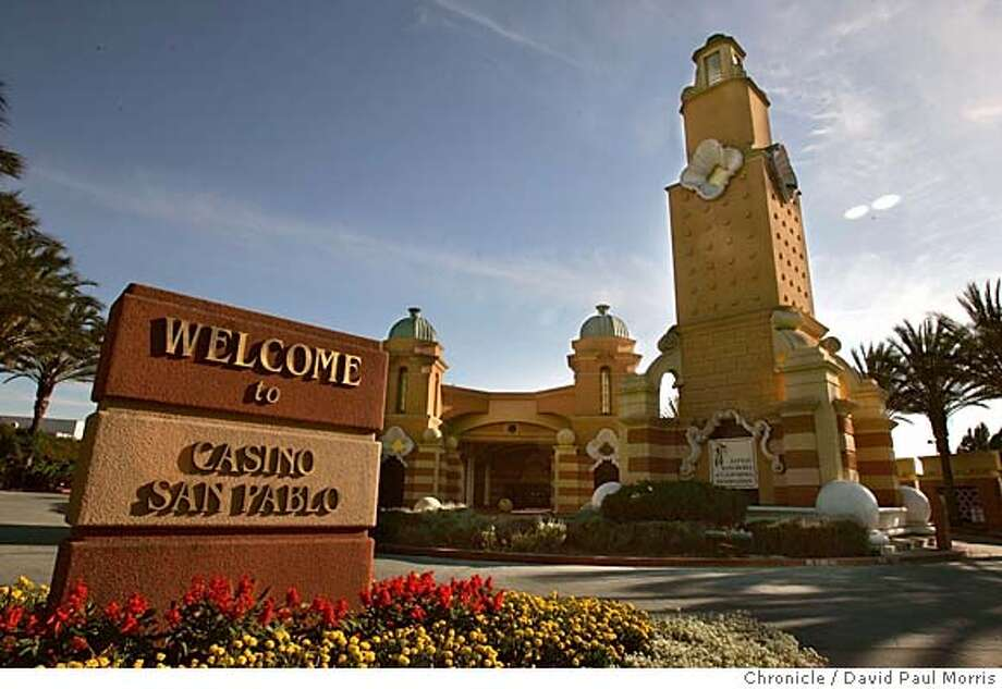 San Pablo, CA- AUGUST 20: The Casino San Pablo located off San Pablo Dam Road and San Pablo Road in San Pablo, California on August 20, 2004. (Photo by David Paul Morris/ The Chronicle) Ran on: 08-24-2004  Casino San Pablo doesn't have slot machines now; it has card games like Pan 9 Fast, 21st Century blackjack and Texas Hold' em. Ran on: 08-24-2004  Casino San Pablo currently has no slot machines. Ran on: 08-24-2004  Casino San Pablo doesn't have slot machines now; it has card games like Pan 9 Fast, 21st Century blackjack and Texas Hold 'em. Ran on: 08-24-2004  Casino San Pablo currently has no slot machines. Ran on: 10-24-2004  Casino San Pablo, located just off Interstate 80 in San Pablo, is now owned by the formerly landless Lytton Band of Pomo Indians. Photo: David Paul Morris