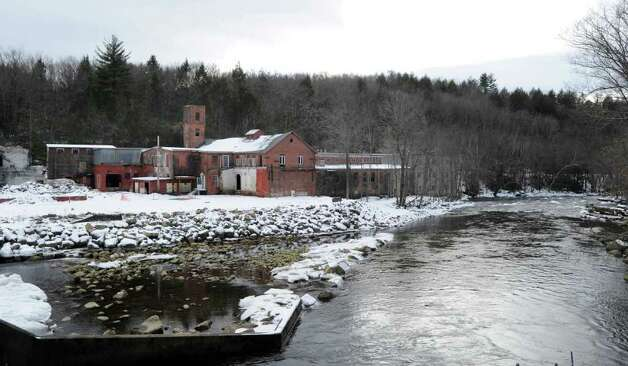 An abandoned paper mill on the Ashuelot River in New Hampshire, Wednesday, Jan. 25, 2012. Ashuelot, a part of the Town of Winchester, was the home of murder victim Mary Harrison, a Greenwich native. Photo: Bob Luckey / Greenwich Time