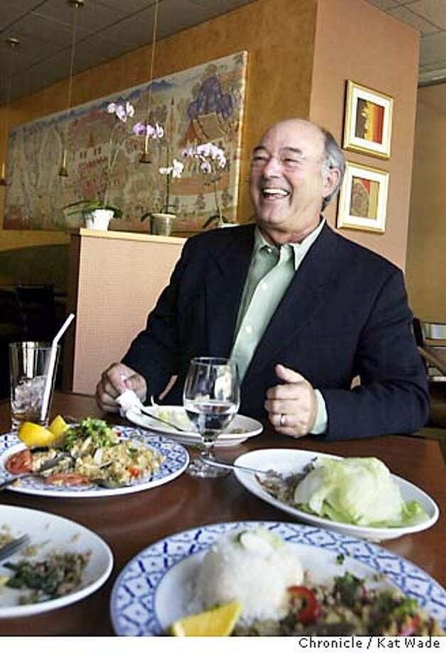 COOKSNIGHTOUT_048_KW.jpg  For Cook's Night Out, John Goyak, owner of Casa Orinda dines out at Siam Orchid in Orinda on 7/8/04  Kat Wade/The Chronicle MANDATORY CREDIT FOR PHOTOG AND SF CHRONICLE/ -MAGS OUT Photo: Kat Wade