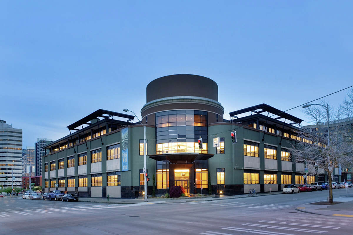 A 2011 image of the Sixth and Wall building, which opened on Friday, Jan. 21, 2013 as the new international headquarters of City University of Seattle.