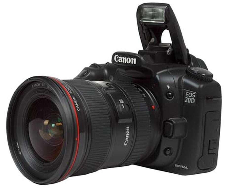 Canon 20D, digital camera