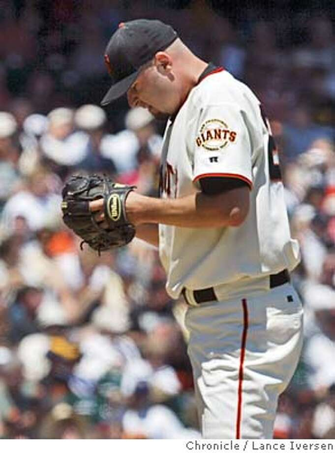 GIANTS918_LI.JPG vs San Diego Padres: Starter jason Schmidt.  By Lance Iversen/San Francisco Chronicle Photo: Lance Iversen