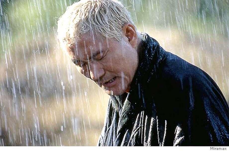 Takeshi Kitano in The Blind Swordsman: Zatoichi  miramax