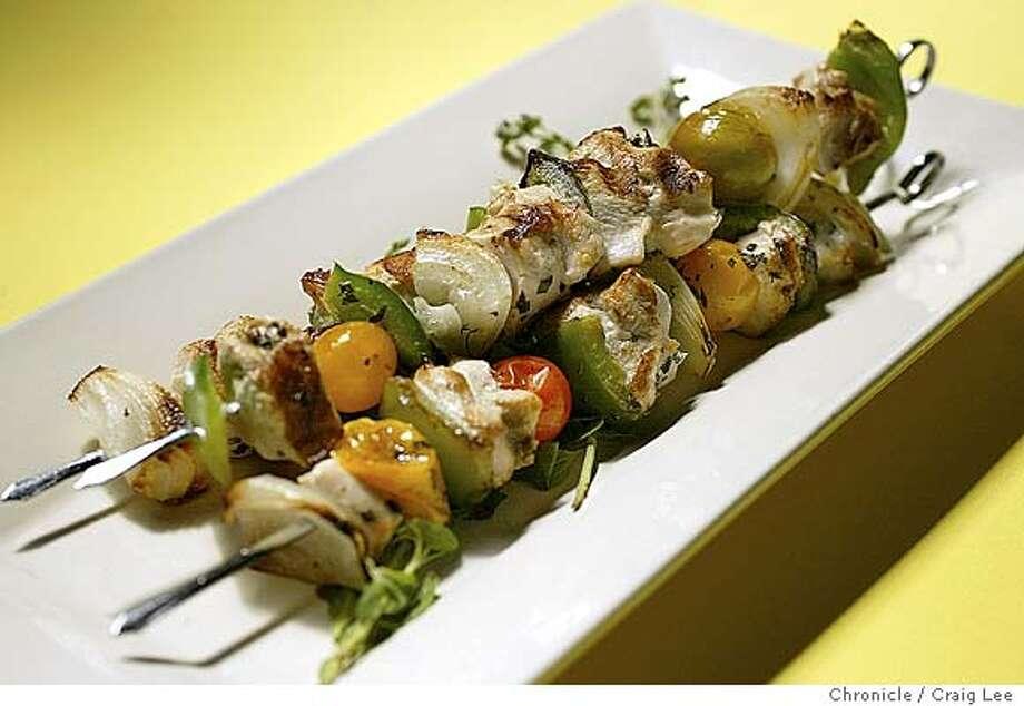 Chicken Kebabs Point Toward Chardonnay Moderate Oak Means Fruity