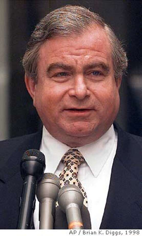 ** FILE ** Former National Security Adviser Sandy Berger is seen Sunday, Feb. 22, 1998, in Washington. Berger, is the focus of a criminal investigation after admitting he removed highly classified terrorism documents from a secure reading room during preparations for the Sept. 11 commission hearings, The Associated Press has learned. (AP Photo/Brian K. Diggs, ile) Photo: BRIAN K. DIGGS