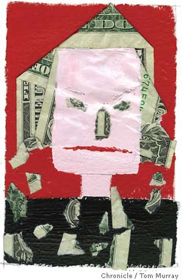 Salary Discrimination. Chronicle illustration by Tom Murray