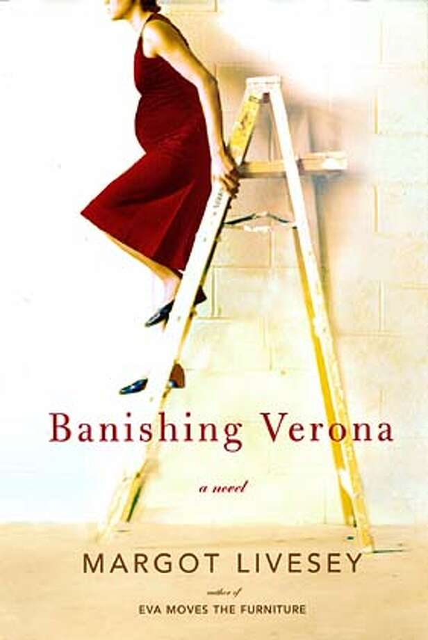 Book cover of BANISHING VERONA by Margot Livesey HO MANDATORY CREDIT FOR PHOTOG AND SF CHRONICLE/ -MAGS OUT