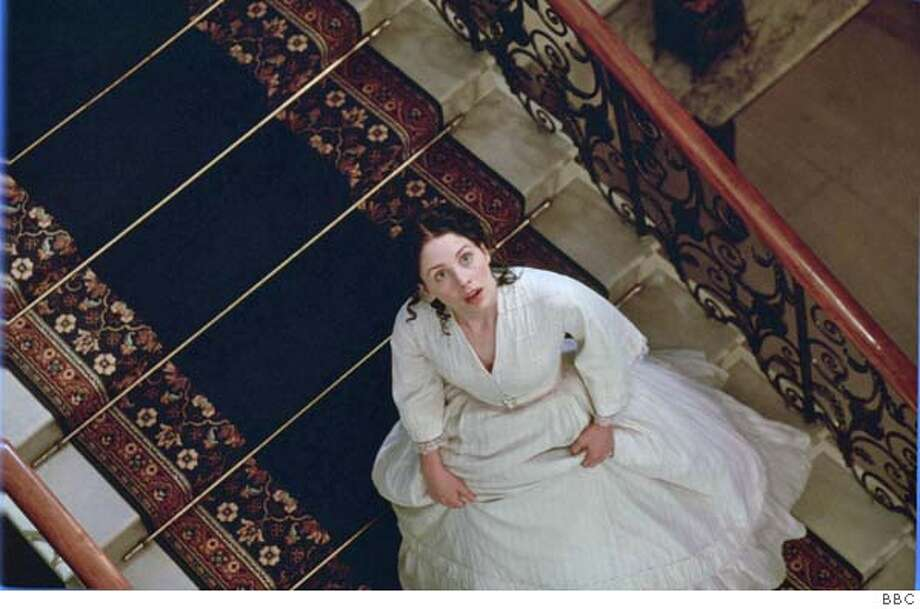 "TROLLOPE08 ""He Knew He Was Right"" premieres Sunday, January 9 and 16, 2005 at 9pm (check local listings). Shown: LAURA FRASER as Emily Trevelyan Credit: BBC This image may be used only in the direct promotion of Masterpiece Theatre: ""He Knew He Was Right"". No other rights are granted. All rights are reserved. Editorial use only. WARNING This image may only be used for publicity -purposes in connection with the broadcast of the -programme as licensed by BBC Worldwide Ltd & must -carry the shown copyright legend. It may not be used for -any commercial purpose without a licence from Photo: BBC"