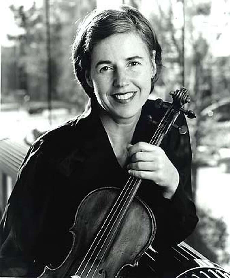 WALTHER10  Violinst Geraldine Walther. Geraldine Walther is the Symphony's principal violist.