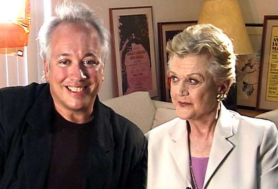 "BUZZART18B.JPG Angela Lansbury and Rick McKay to accompany the piece on ""Broadway: The Golden Age."" HANDOUT"