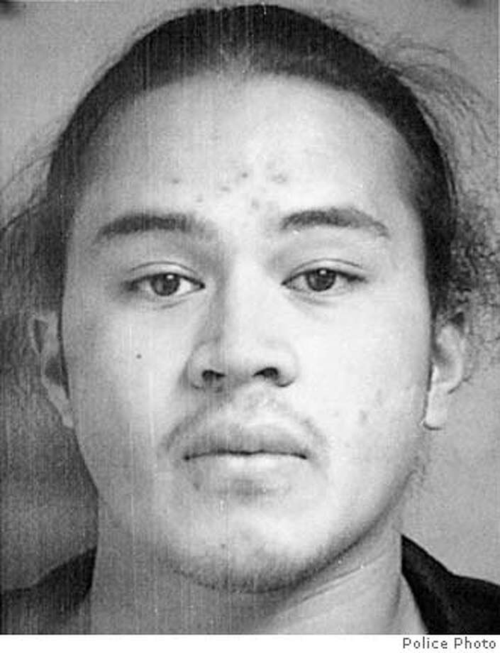 Bank robbery and murder suspect Seti Scanlan, of Mountain View, Calif., shown in this undated photo released by the police Sunday, Nov. 3, 2002, is considered armed and dangerous by authorities. Burlingame, Calif. police believe Scanlan, 24, is responsible for the death of Wells Fargo Bank manager Alice Martel, who was shot during an Oct. 11 robbery. (AP Photo/Police photo via San Mateo Times). ALSO RAN 11/9/02; 06-17-2004; 06/29/2004; 07/09/2004  Seti Scanlan had pleaded guilty to crimes including the murder of a bank manager. Ran on: 06-29-2004  Seti Scanlan has pleaded guilty to murder in the death of a Burlingame bank branch manager. CAT UNDATED PHOTO BLACK AND WHITE ONLY