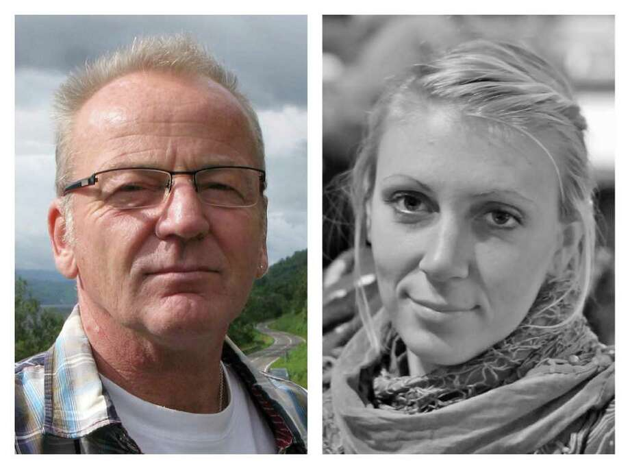 This combination photo made from undated images provided by the Danish Refugee Council shows Dane Poul Hagen Thisted, left, and American Jessica Buchanan. U.S. military forces flew into Somalia in a nighttime raid Wednesday, Jan. 25, 2012 and freed the two hostages while killing nine pirates, officials and a pirate source said. (AP Photo/Danish Refugee Council) / Danish Refugee Council