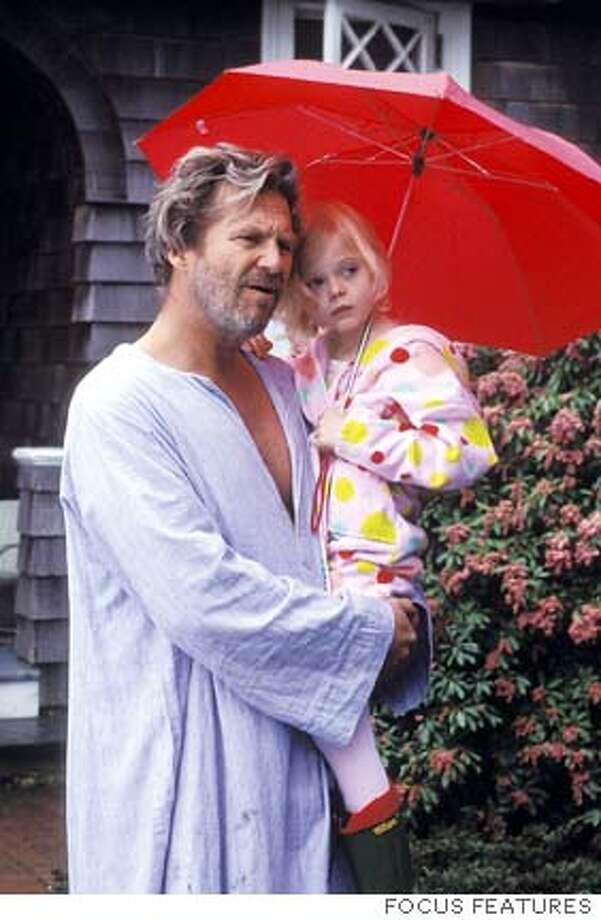 BRIDGES11  Jeff Bridges (left) and Elle Fanning (right) star in Tod Williams� THE DOOR IN THE FLOOR.