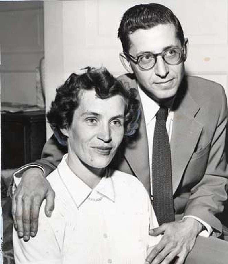 JOHN AND SYLVIA APRIL 26,1958