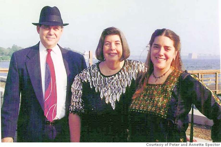 Please add to mediagrid, slugged mideast-spector.  Caption: Jamie Spector, right, with her parents.  Courtesy of Peter and Annette Spector