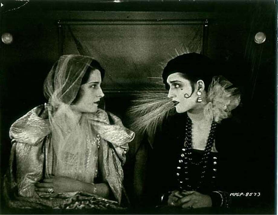 "The film ""Lady of the Night,"" 1925 Photo: Handout"