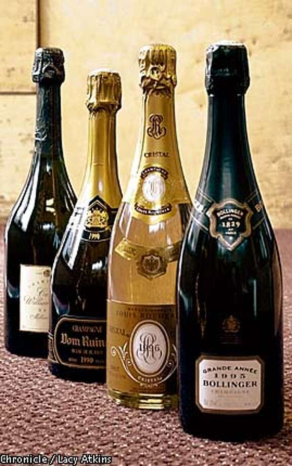 Top of the Line: New Year's is the time for premium Champagne. Chronicle photo by Lacy Atkins