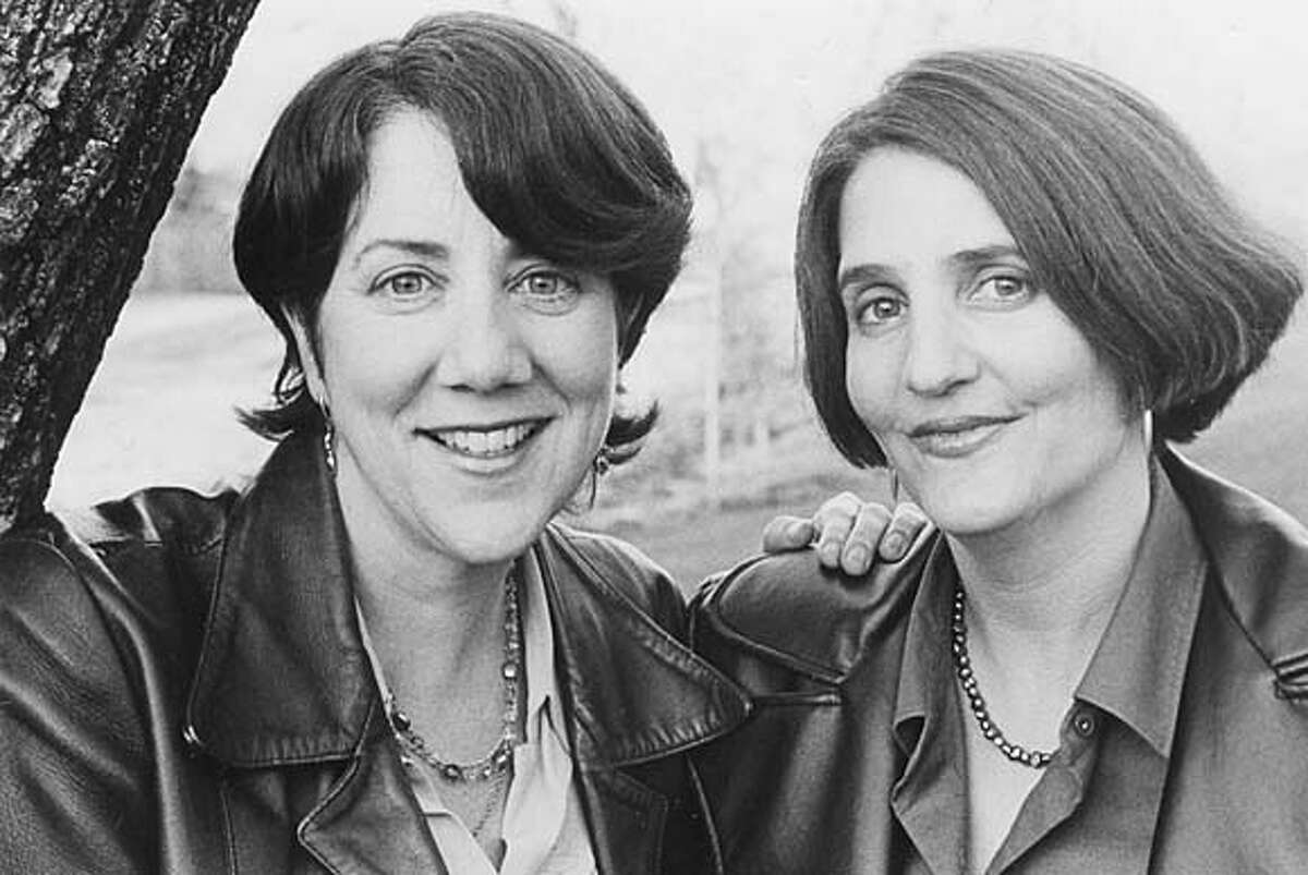 """NBMARRIED02.JPG Leslie Mancillas and Peg Melnic, authors of """"How To Stay Happily Married After Kids."""" / HO"""