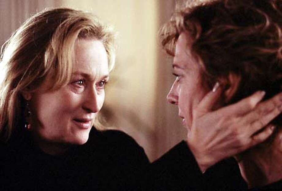 "Meryl Streep as Clarissa and Allison Janney as Sally in ""The Hours."" A Paramount Pictures and Miramax Films presentation, ""The Hours"" is a Scott Rudin/Robert Fox Production starring Meryl Streep, Julianne Moore and Nicole Kidman. HANDOUT PHOTO Photo: HANDOUT"