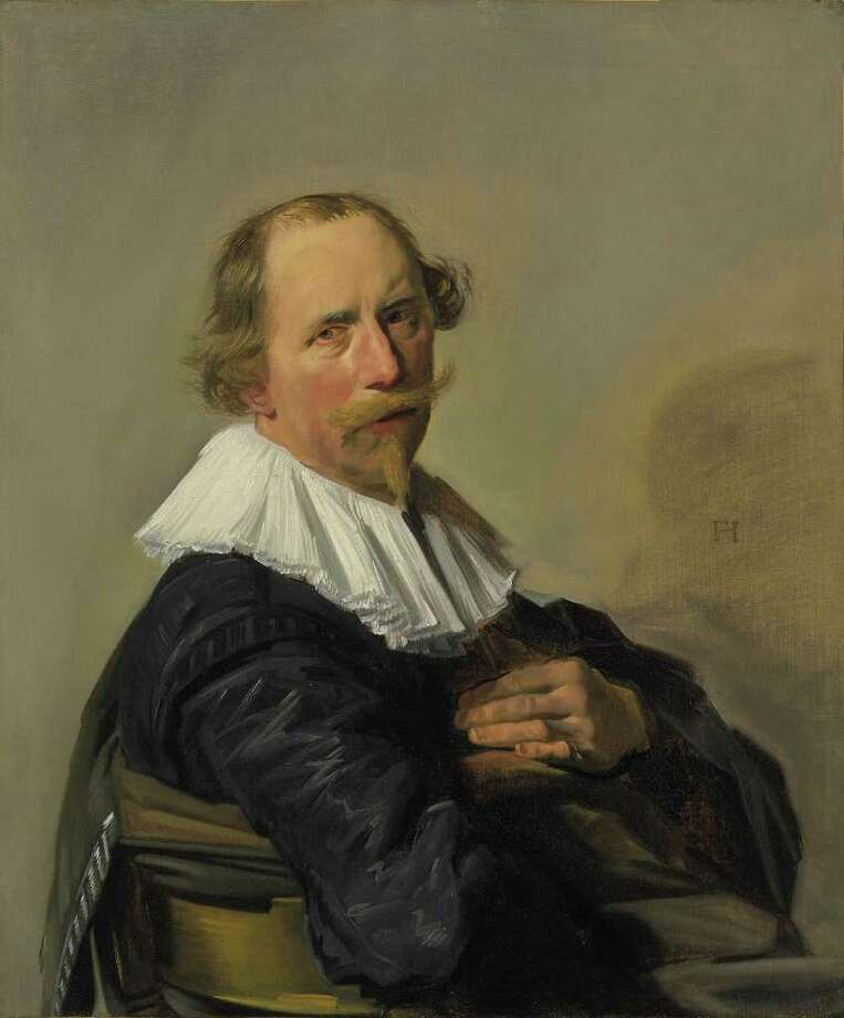 "Portrait of a Man  was once listed as a ""doubtful"" work by Frans Hals. But  last summer, the painting  was confirmed as being Hals. / Christie's"