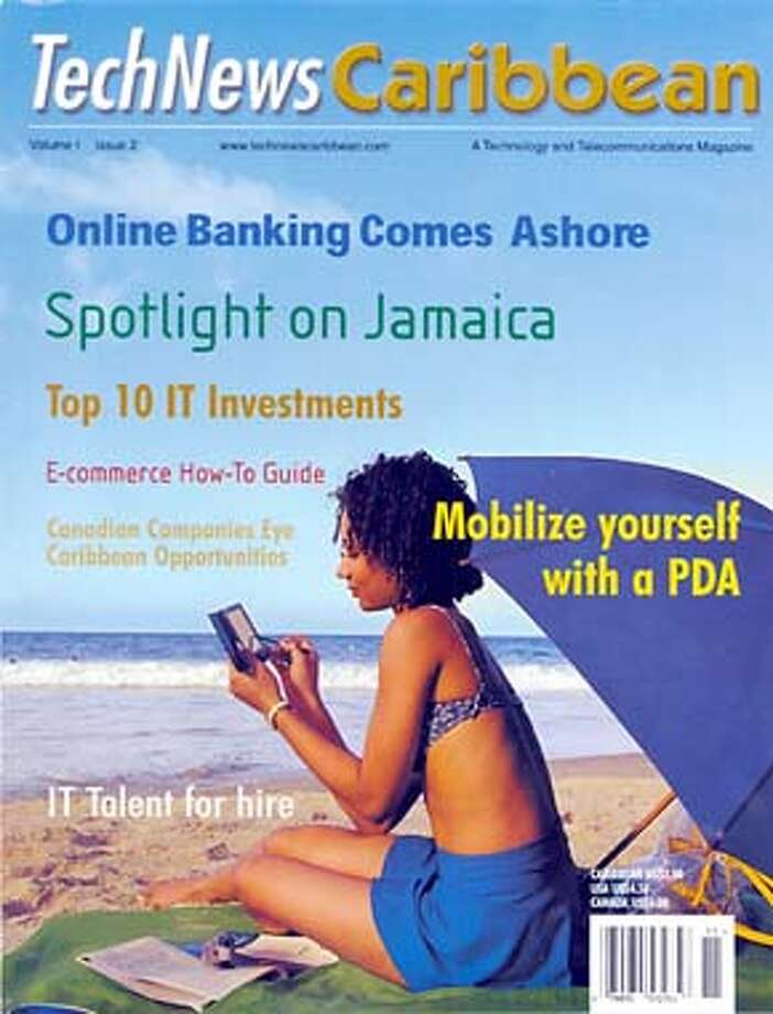 Cover of TechNews Caribbean.