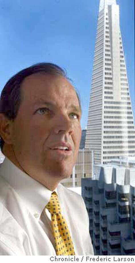; President, Craig Johnson of JMP is a small SF investment bank whose analysts blew away a lot of bigger banks in annual industry rankings. The company is growing like gangbusters. 6/1/04  San Francisco Chronicle Frederic Larson Photo: Frederic Larson