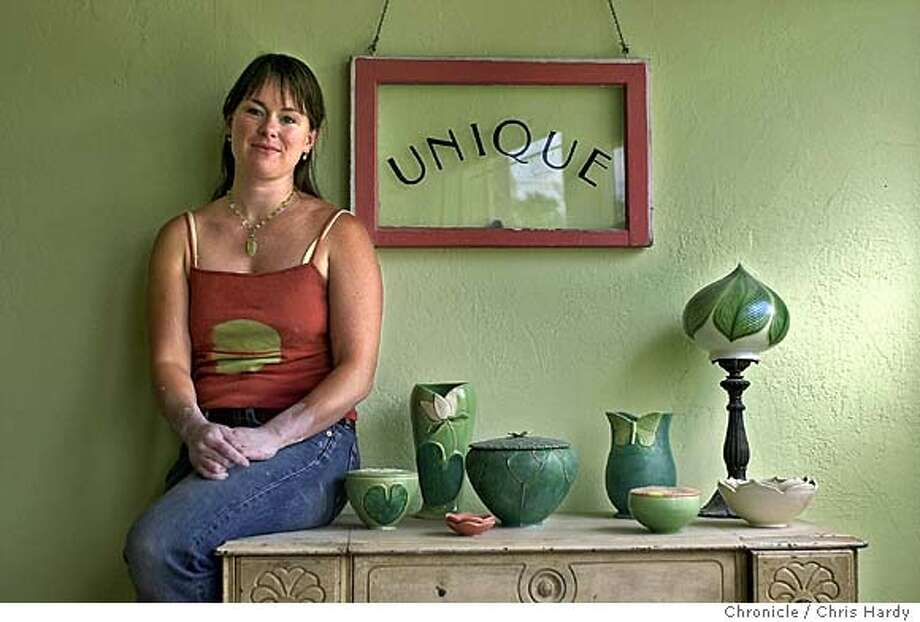 "Profile of Oakland potter Whitney Smith. Part of Home & Garden's monthly ""Designing Tomorrow"" profiles, featuring up-and-coming designers.  inOakland  San Francisco Chronicle/Chris Hardy Photo: Chris Hardy"