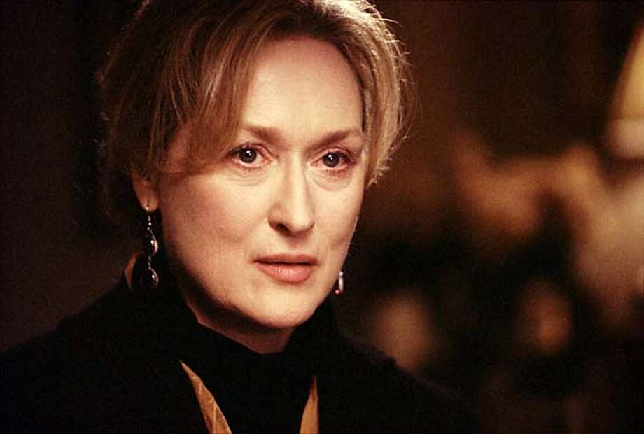 """Meryl Streep in """"The Hours'': She plays a character suffering from vague dissatisfactions with her life."""
