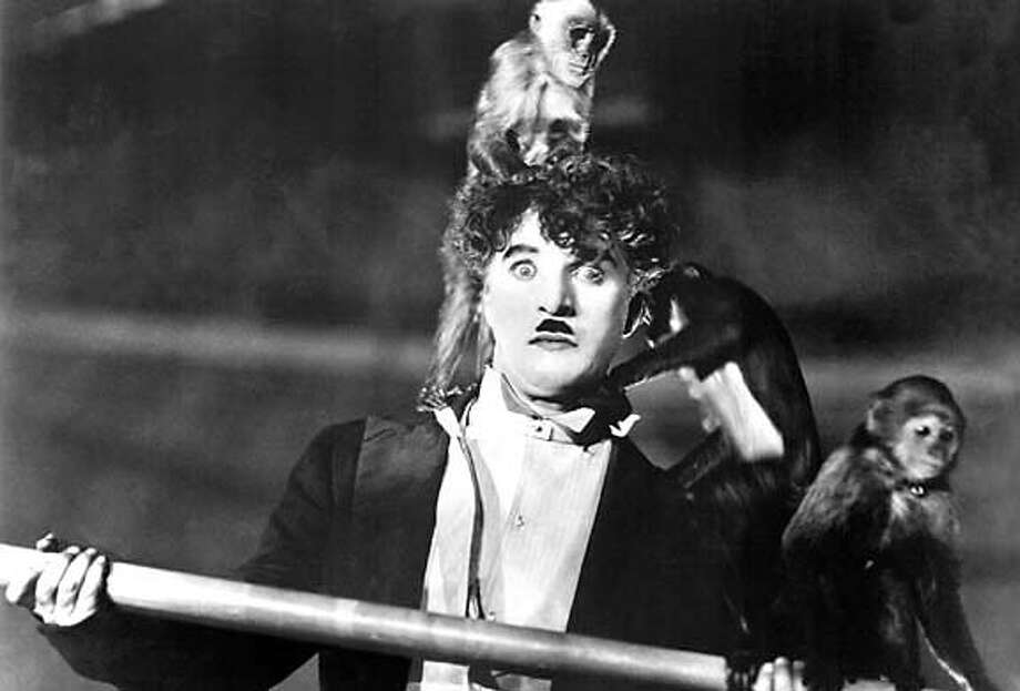 "Charlie Chaplin in ""The Circus,"" part of the Silent Film Festival"