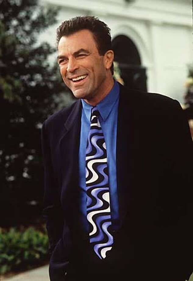 "BRICKBATS-03/C/28DEC97/DD/HO TOM SELLECK IN ""IN & OUT."" ALSO RAN 7/28/2000 Photo: HO"